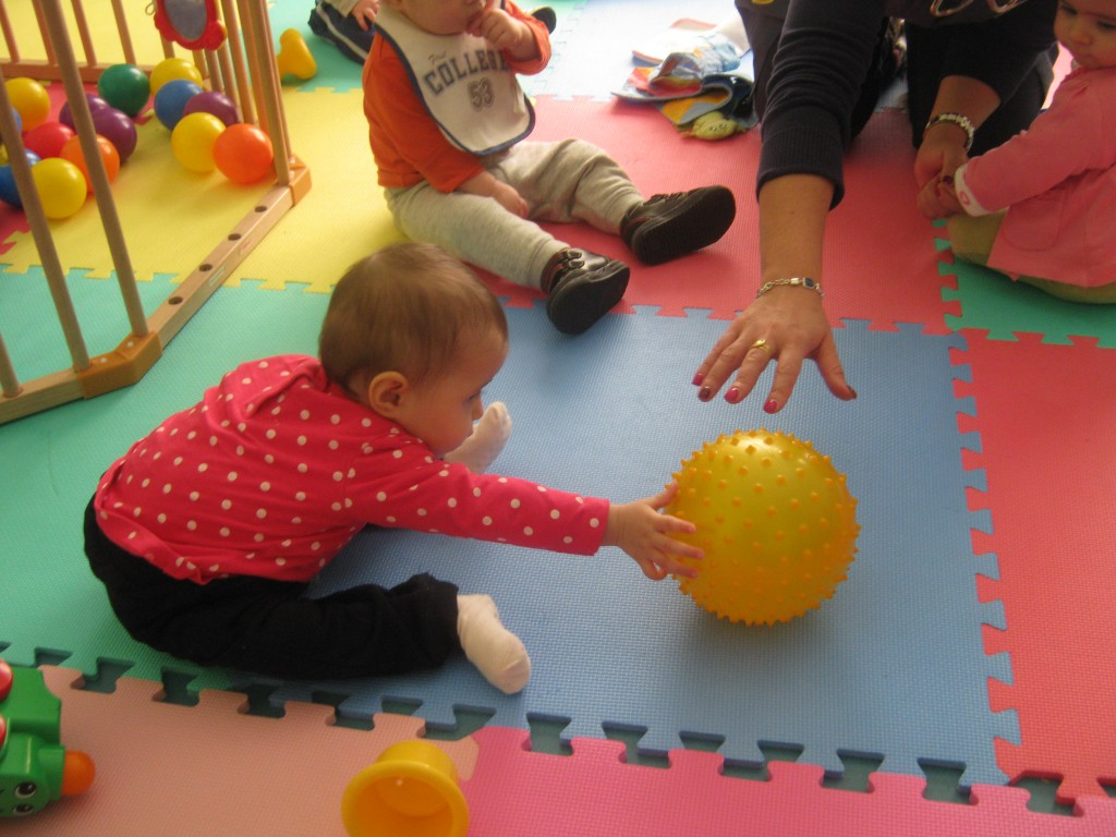 Uma equipa concentrada na criança e no seu bom desenvolvimento